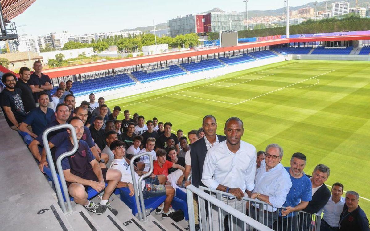 El Barça B visita el Estadio Johan Cruyff