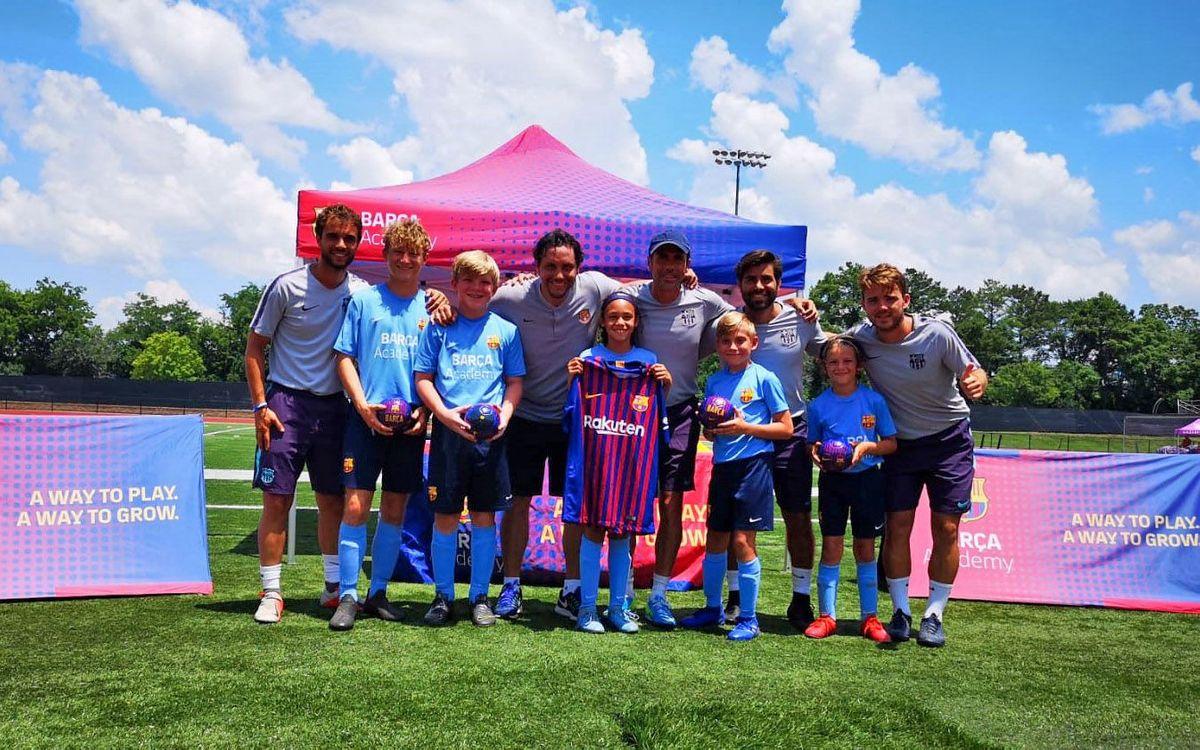 Nashville, desena branca del projecte Barça Academy als Estats Units