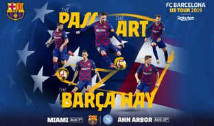 ФК Барселона сыграет два товарищеских матча в США