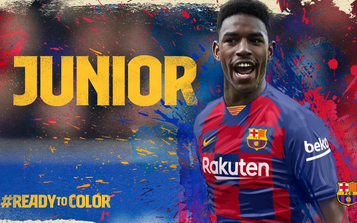 lowest price 26759 69109 Barça sign Junior Firpo