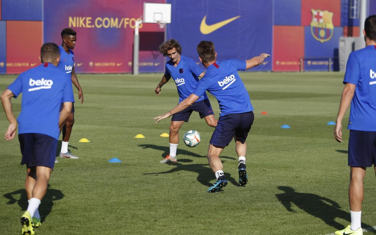Last session before the Gamper