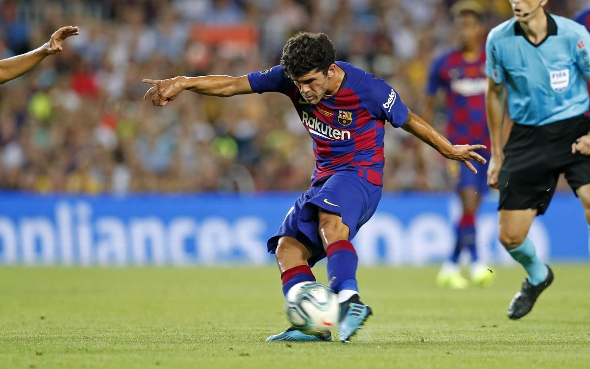 Agreement with Betis for the loan of Carles Aleñá