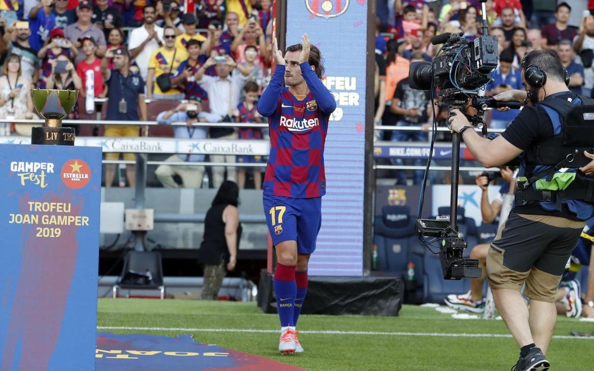 Presentado por la puerta grande el Barça 2019/20