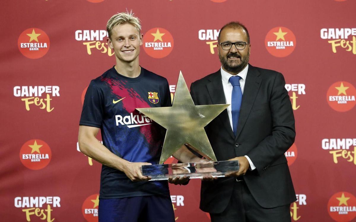 De Jong, MVP del Gamper!