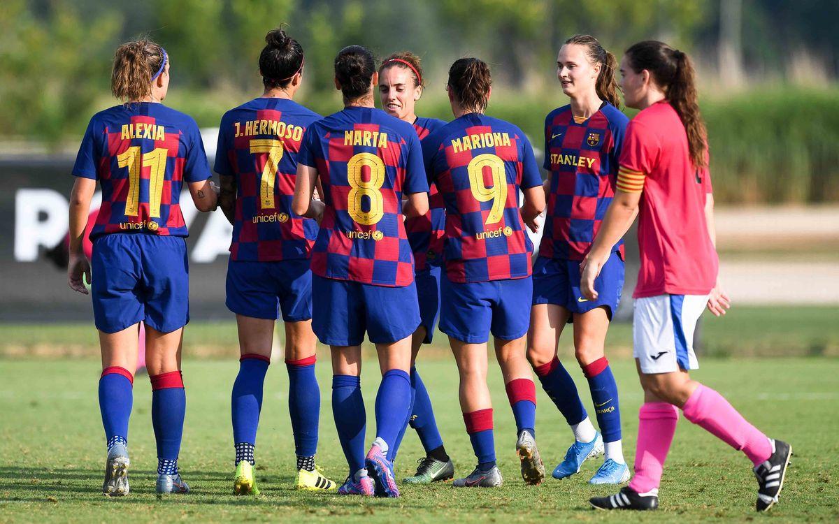 Marquen els primers gols de la pretemporada