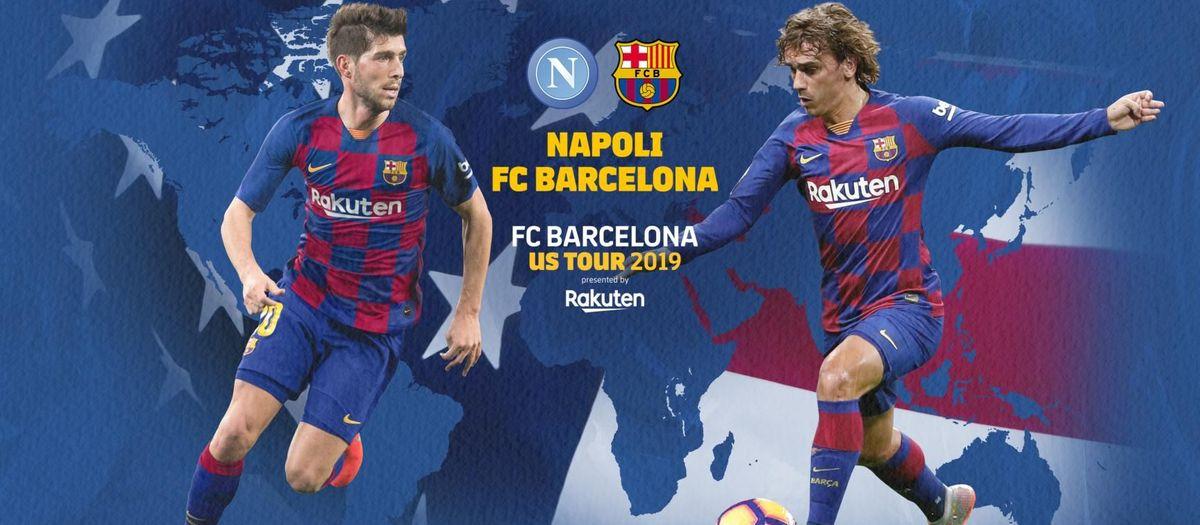 Où et quand voir Naples - Barça