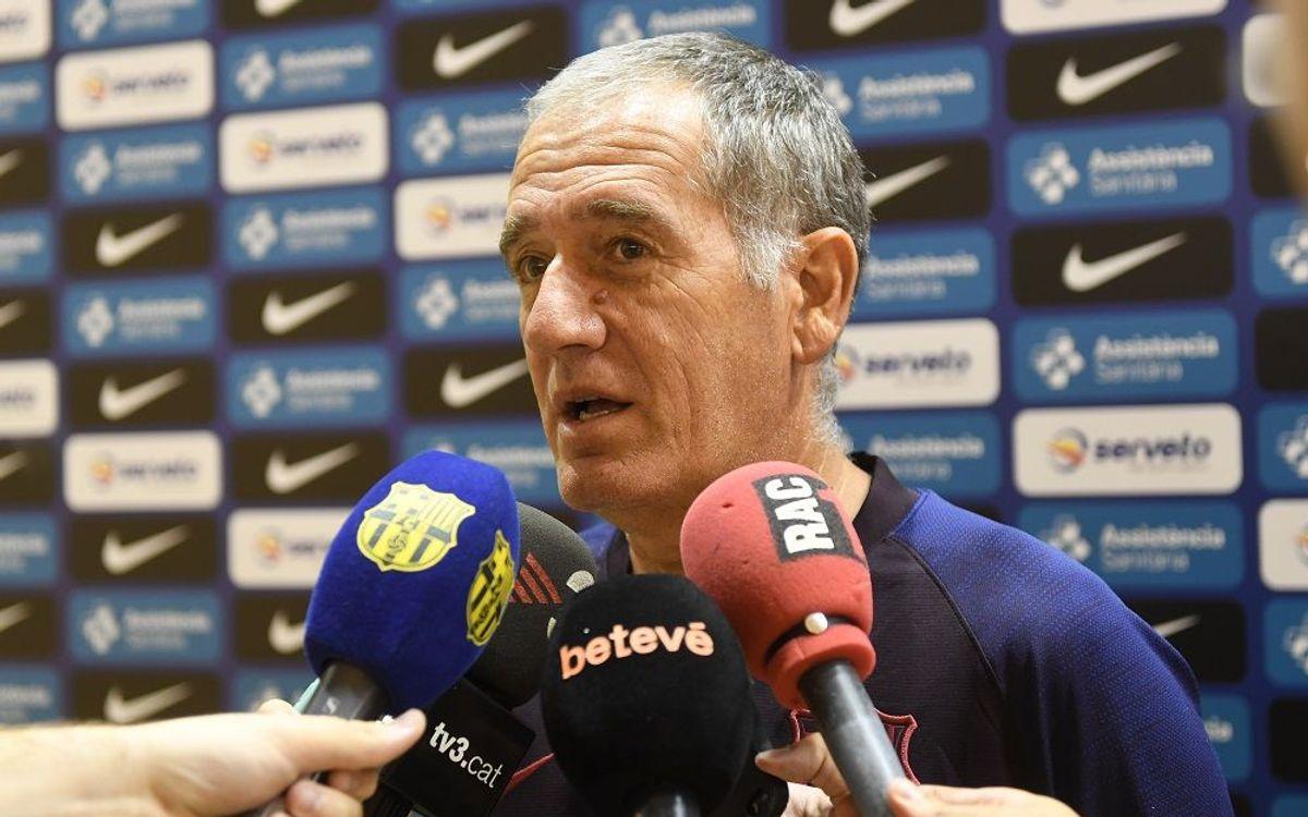 """Andreu Plaza: """"Ara som l'equip a batre"""""""