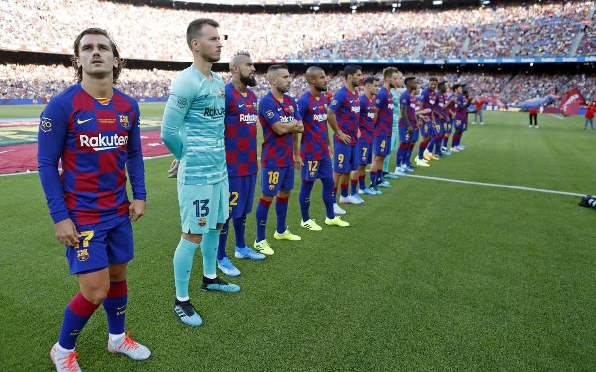 El Gamper 2019, tercera mejor entrada del Camp Nou