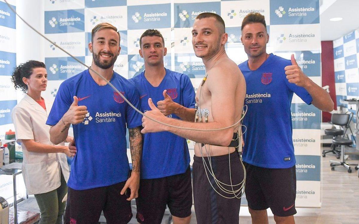El Barça 19/20 se pone en marcha