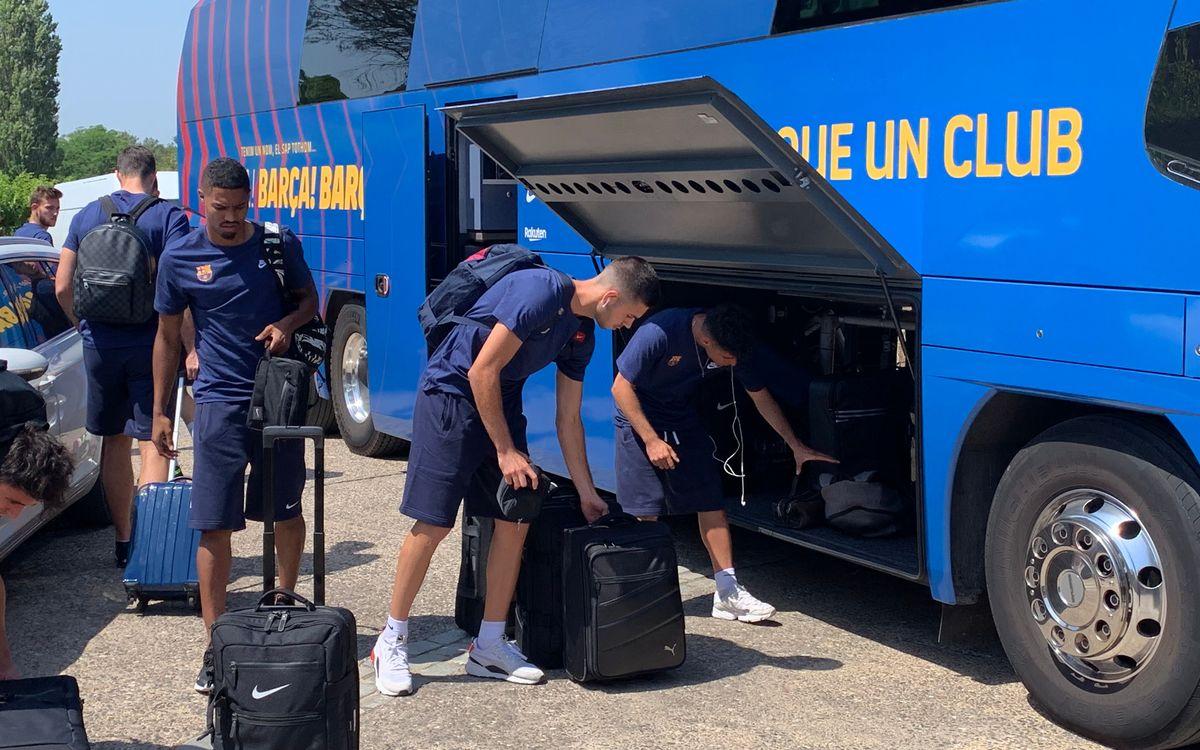 El Barça B comença l'estada a Torremirona