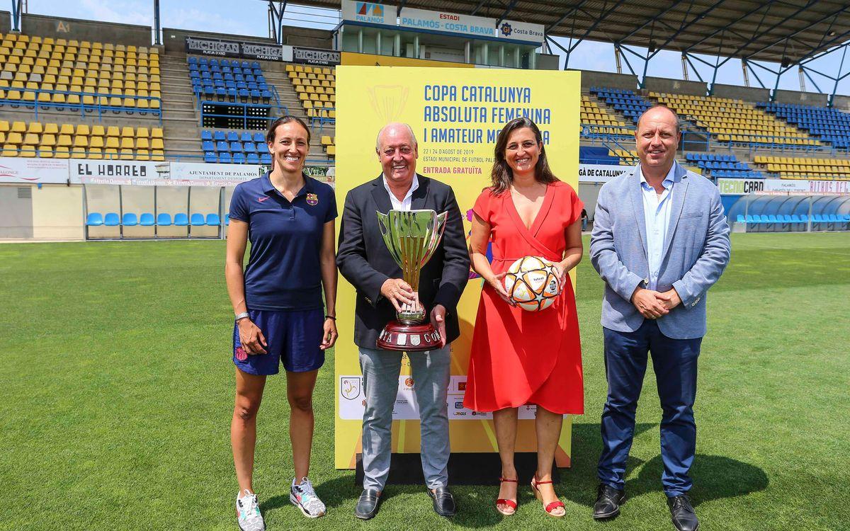 Presentada la fase final de la Copa Catalunya a Palamós