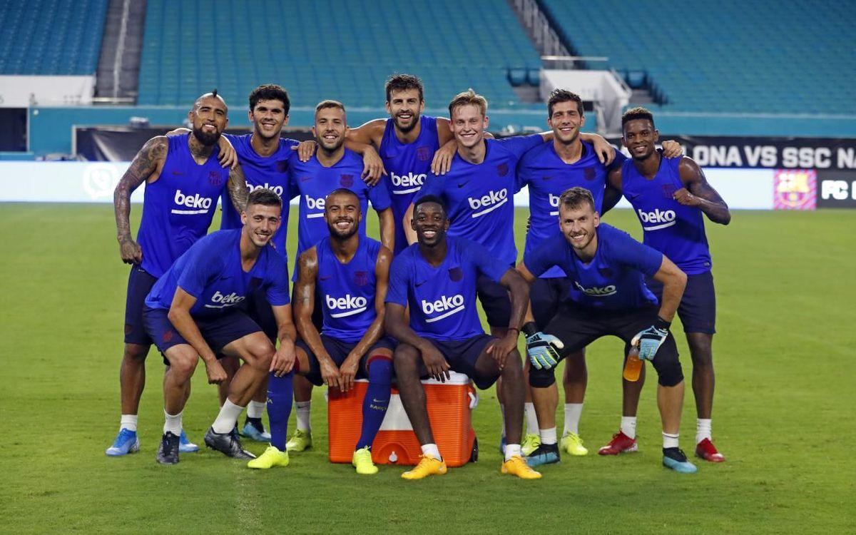 Avant-match | Naples - Barça : Faire le plein de confiance
