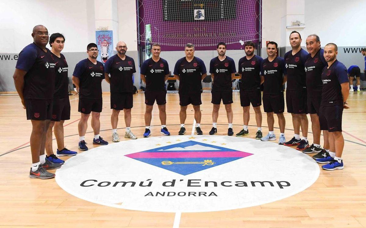 Fernando Barbeito s'incorpora a l'staff tècnic