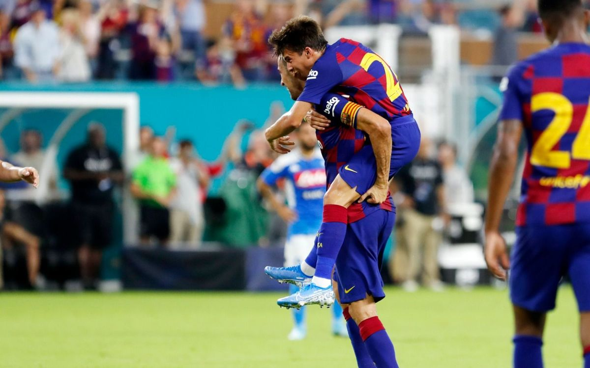 Naples – Barça : La passe de trois (1-2)