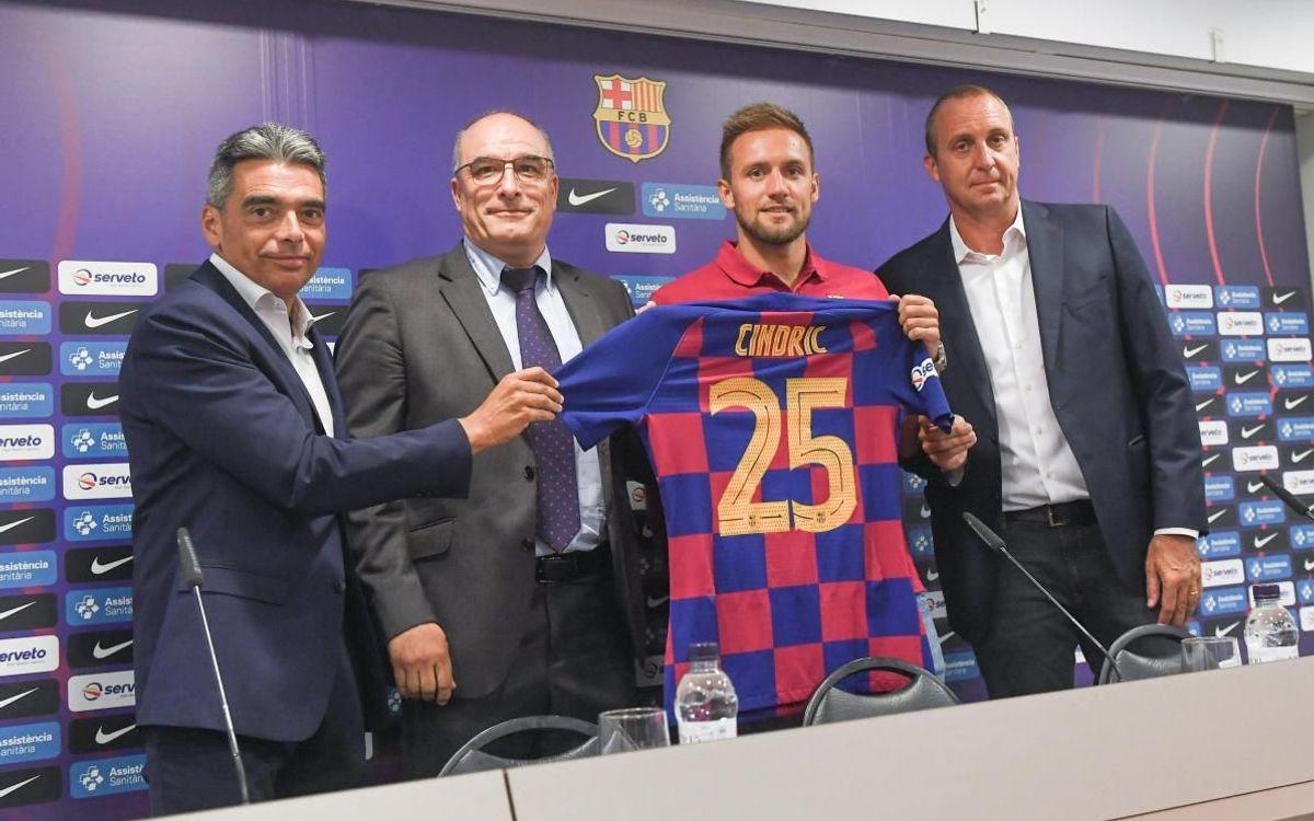 """Luka Cindric: """"Sempre he somiat jugar amb el Barça"""""""
