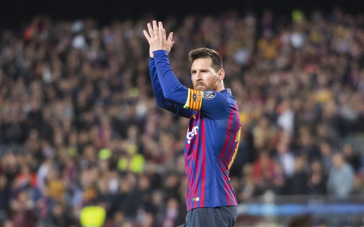 El gol de Lionel Messi contra el Liverpool escollit com a millor gol de la UEFA 2018/19