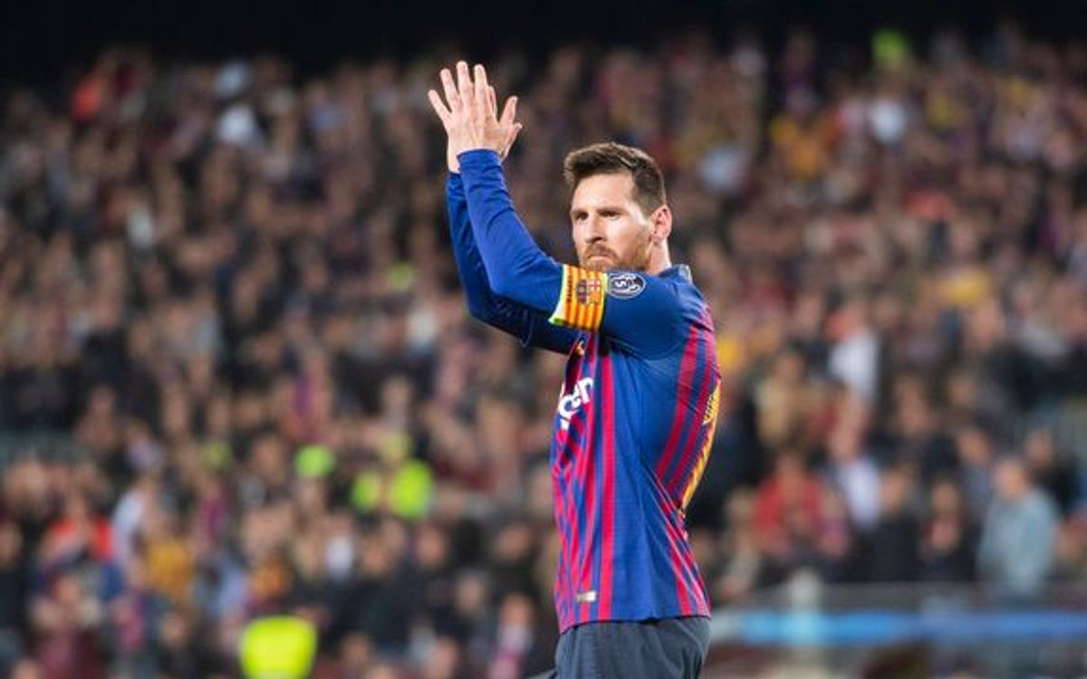 Lionel Messi's strike against Liverpool named UEFA goal of the season