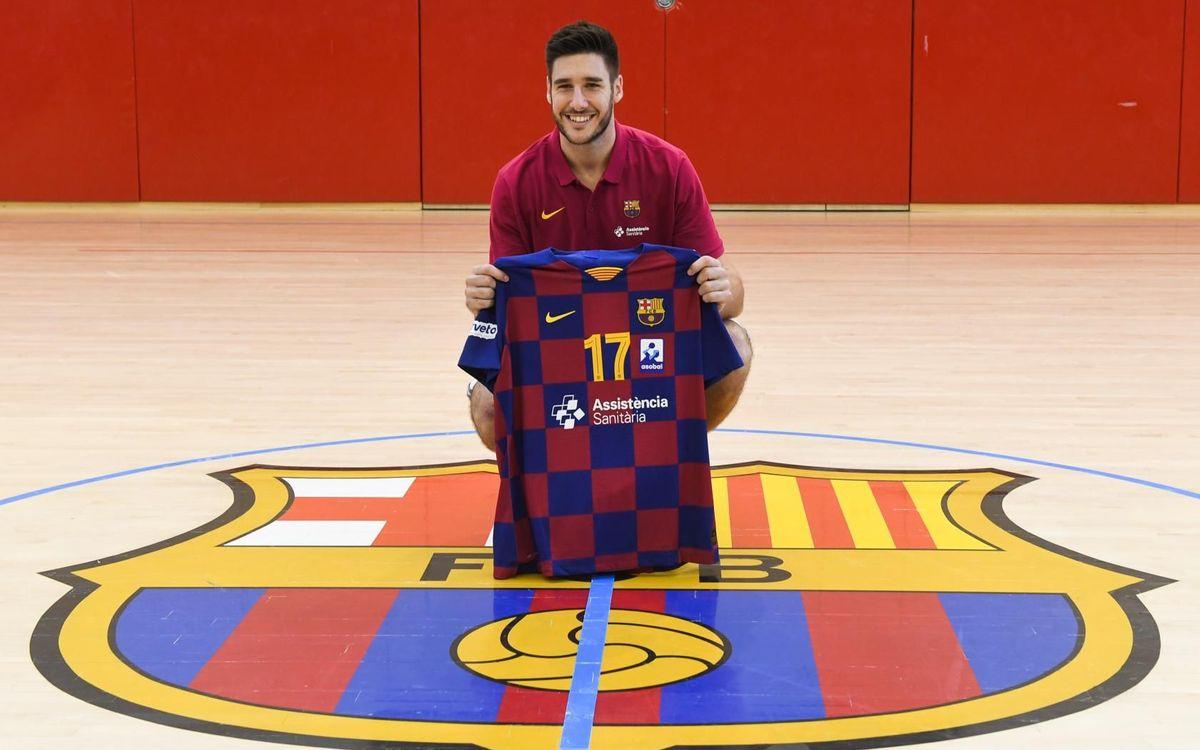 """Abel Serdio: """"Estoy aquí para apoyar al equipo"""""""