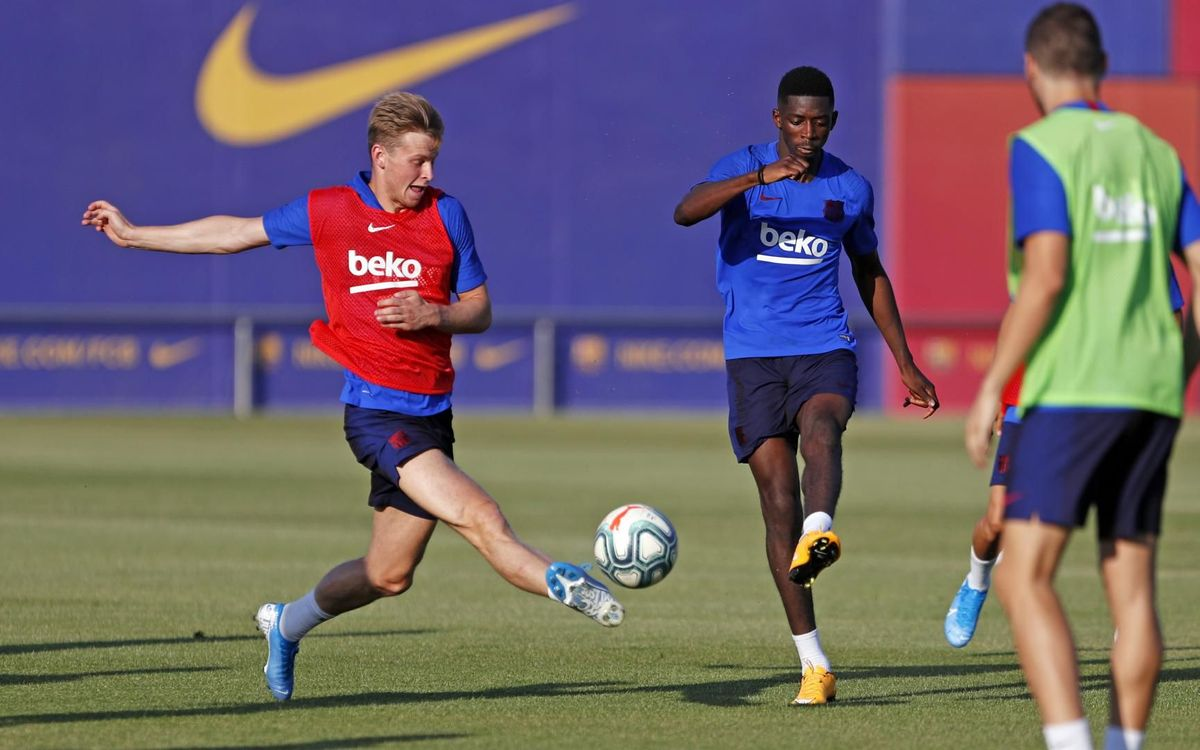 Training schedule before the start of La Liga