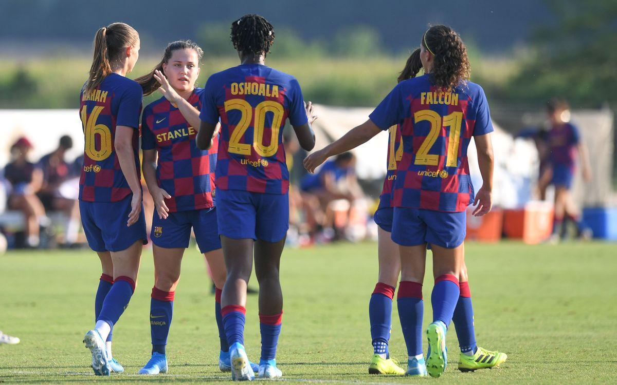 Barça Femenino - Olympique Marsella (previa): El primero (y único) en casa