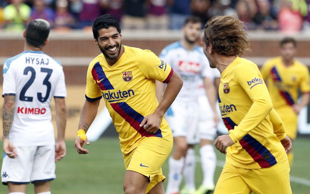 Suárez tops preseason scoring