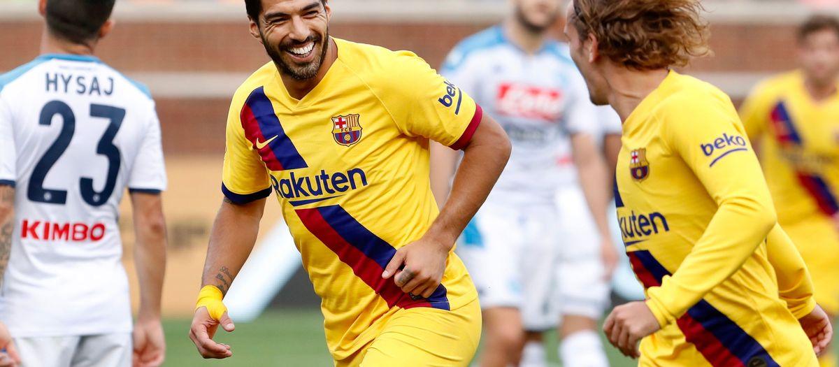 Suárez, Pichichi des matches de préparation