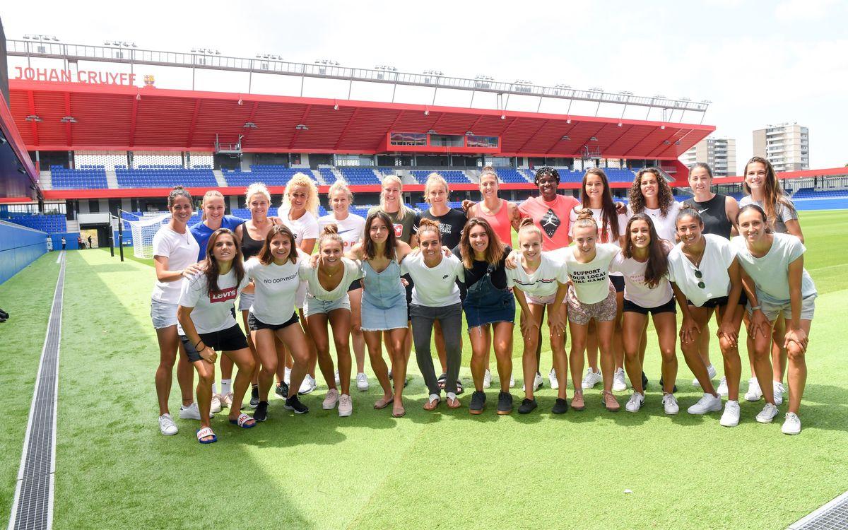 El Femenino conoce el Estadio Johan Cruyff