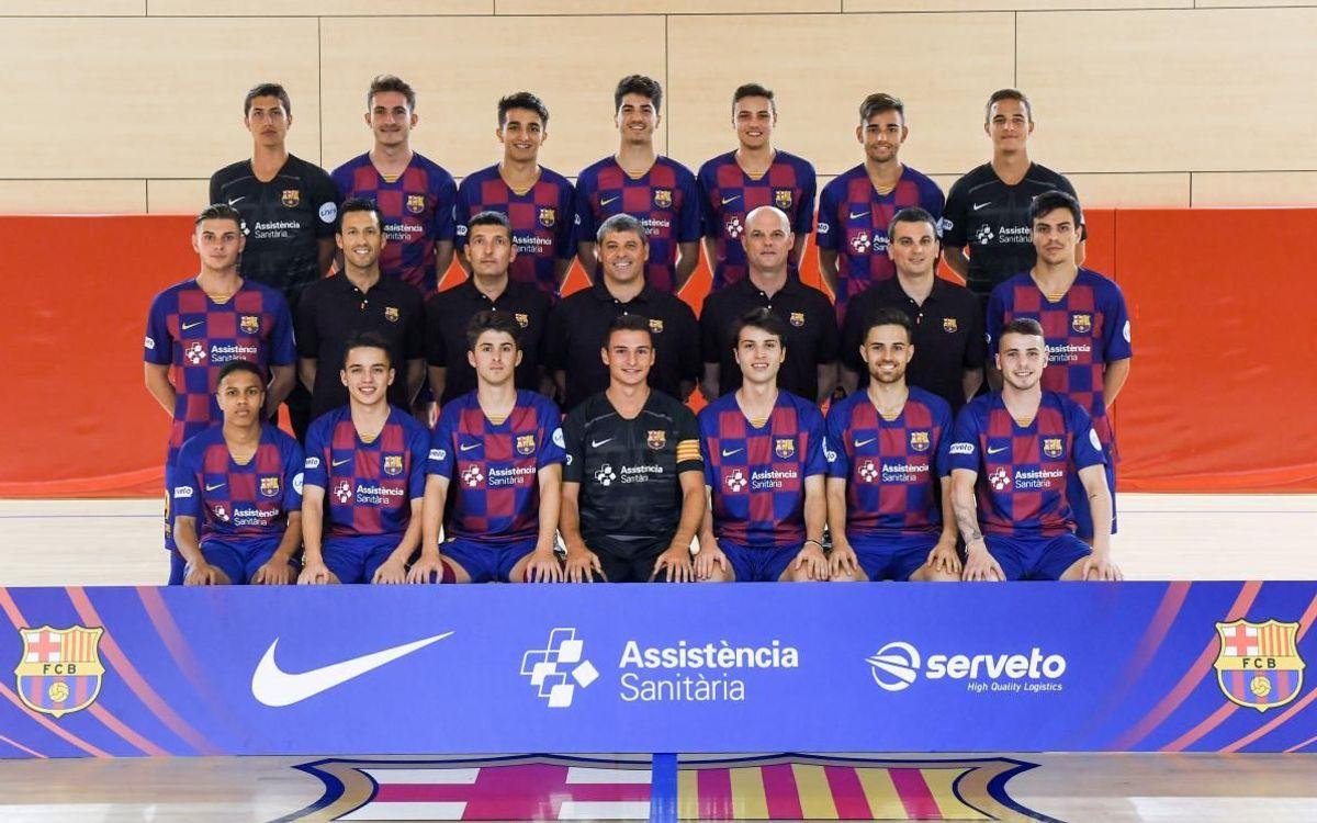 Plantilla - Barça B - 2019-20