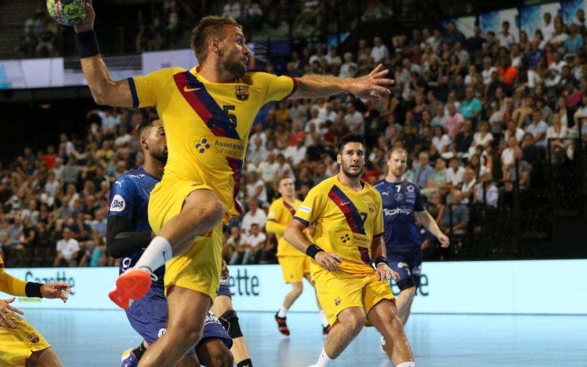 Montpellier HB - Barça: El equipo avanza a buen ritmo (30-37)