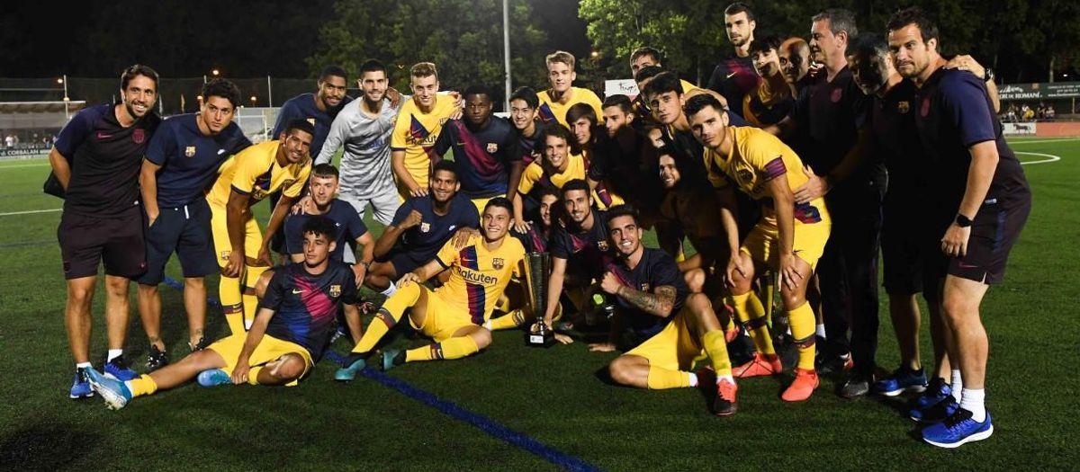 Barça B - Figueres: ¡Goleada y campeones del Torneig de l'Estany! (4-0)
