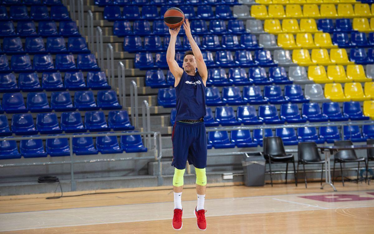 El Barça de bàsquet tornarà a la feina el 25 d'agost
