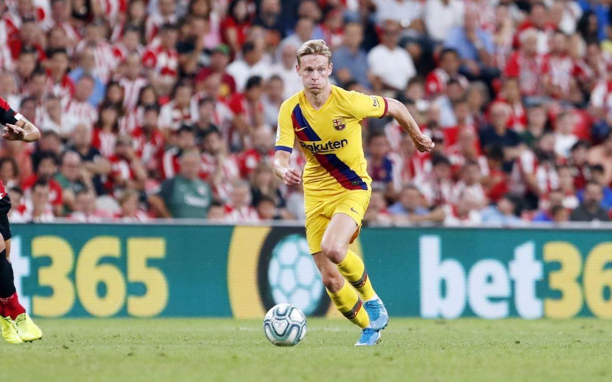 De Jong and Griezmann make official debuts