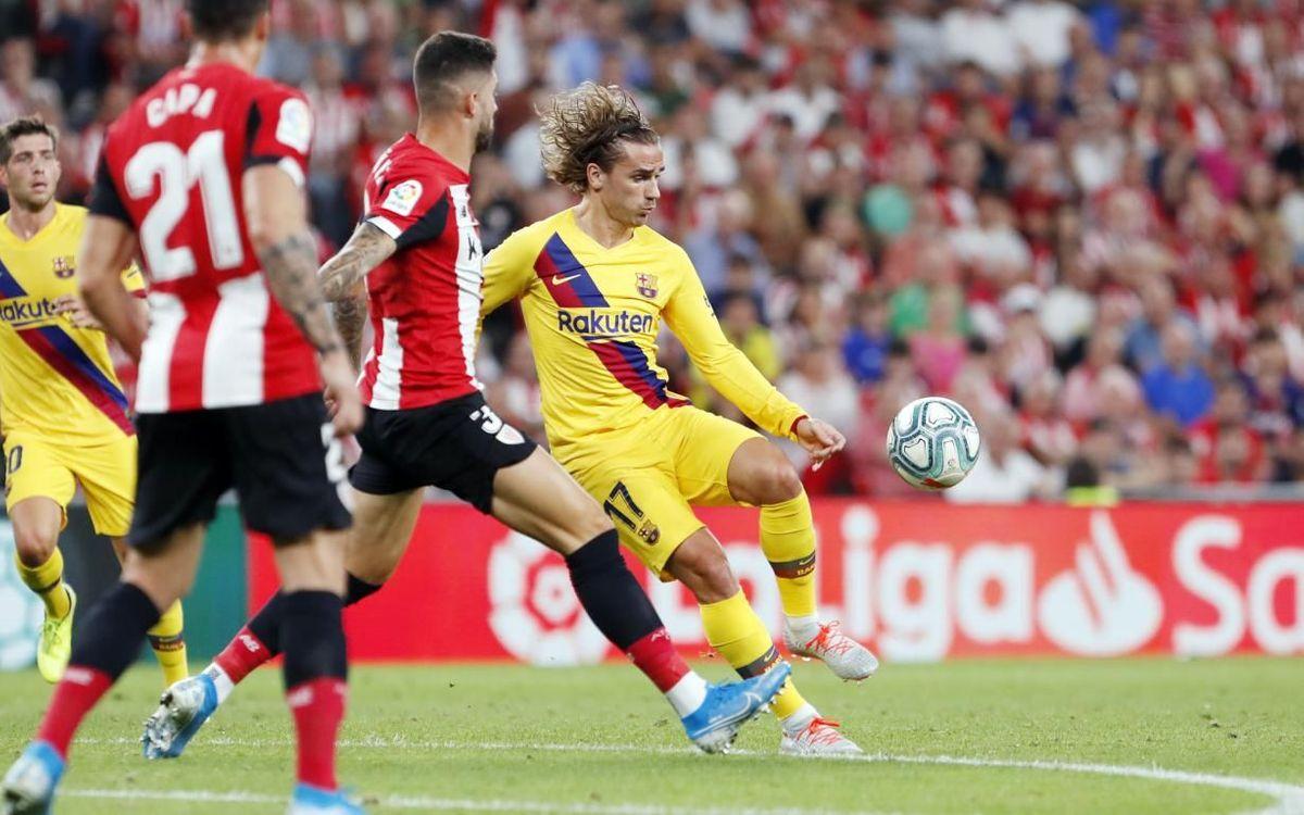 Ath. Bilbao – Barça : Cruels débuts (1-0)