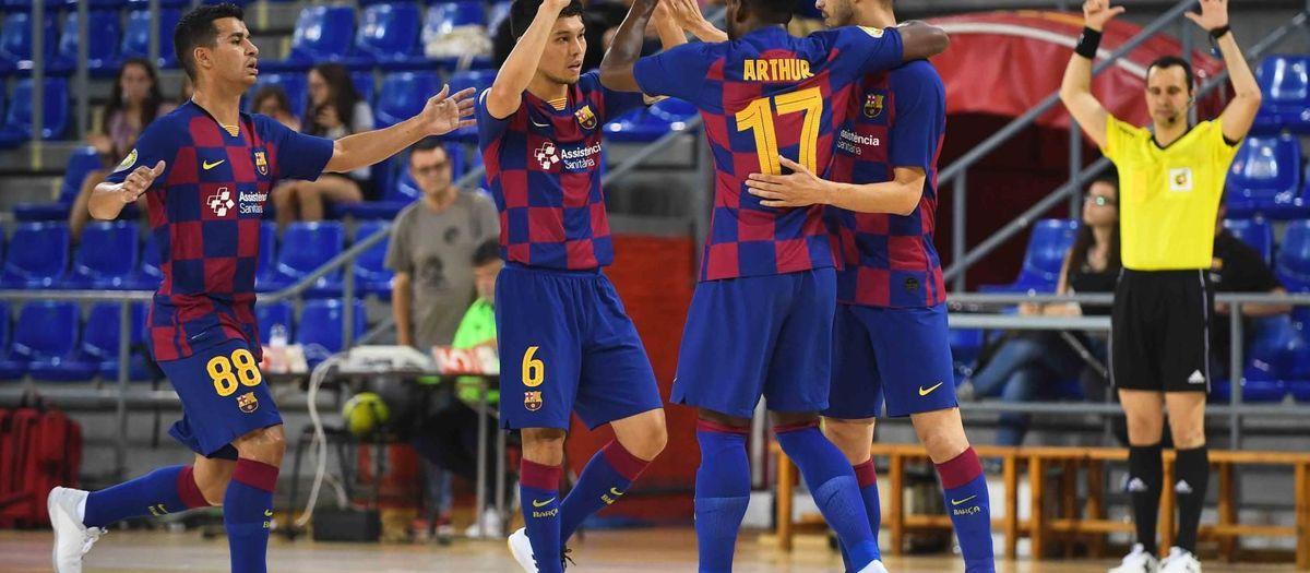 Barça – CA Osasuna Magna: Gran imagen en una prueba de alto nivel (7-1)