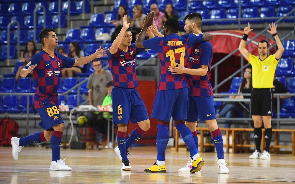 Barça – CA Osasuna Magna: Gran imatge en una prova d'alt nivell (7-1)