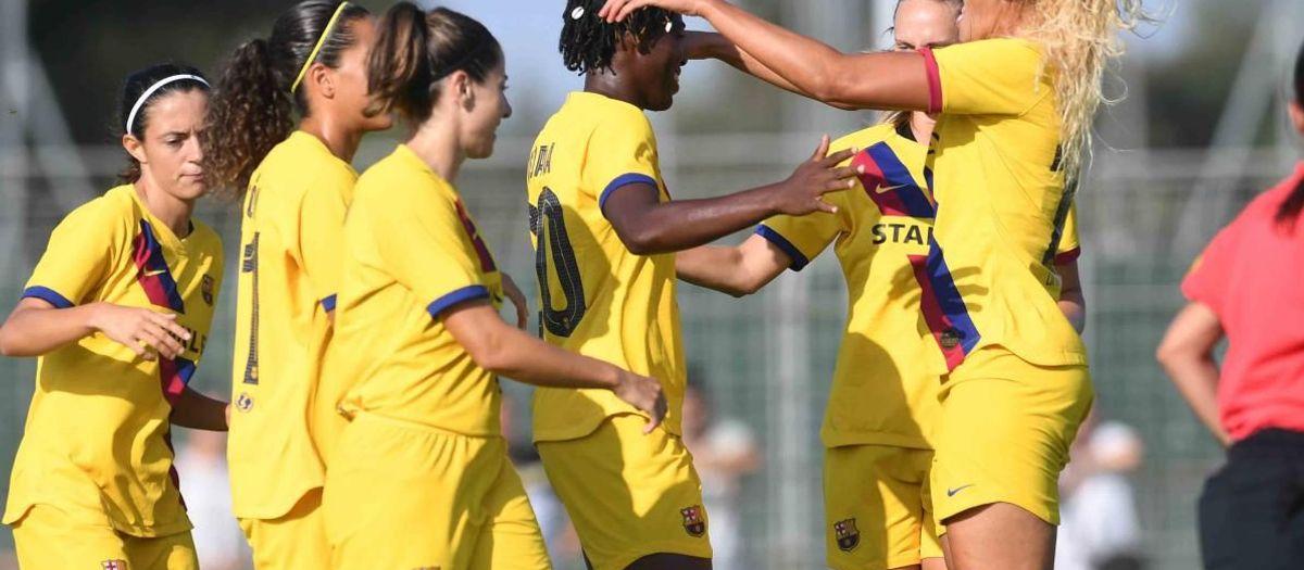 Montpellier - Barça Femenino: Nuevo triunfo para cerrar la pretemporada (0-1)