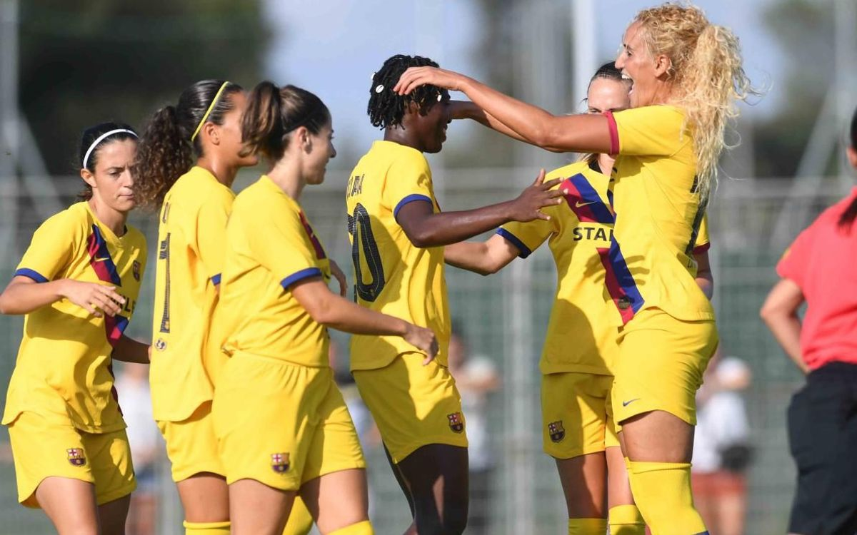 Montpellier – Barça Women: Another win to end pre-season (0-1)