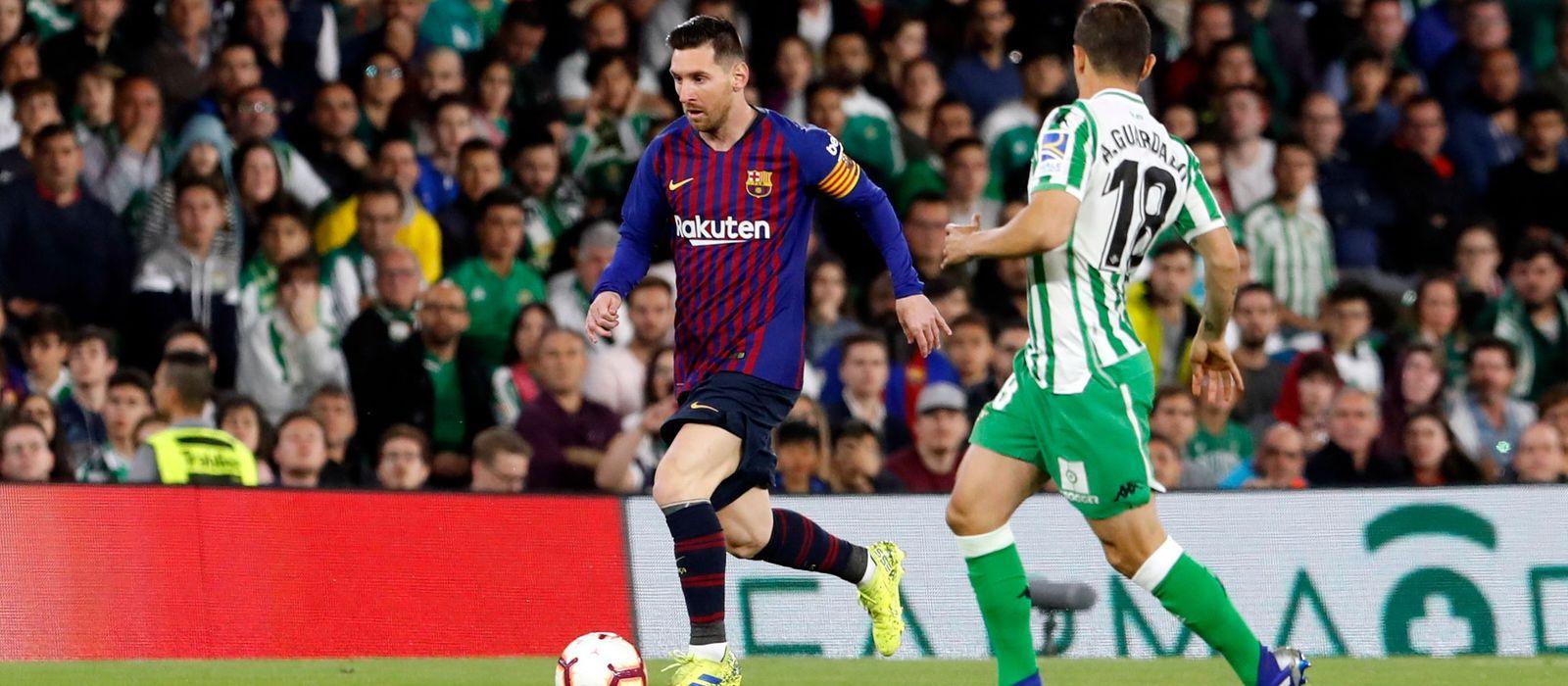 Messi's stunner at the Benito Villamarín on shortlist for Puskás Award