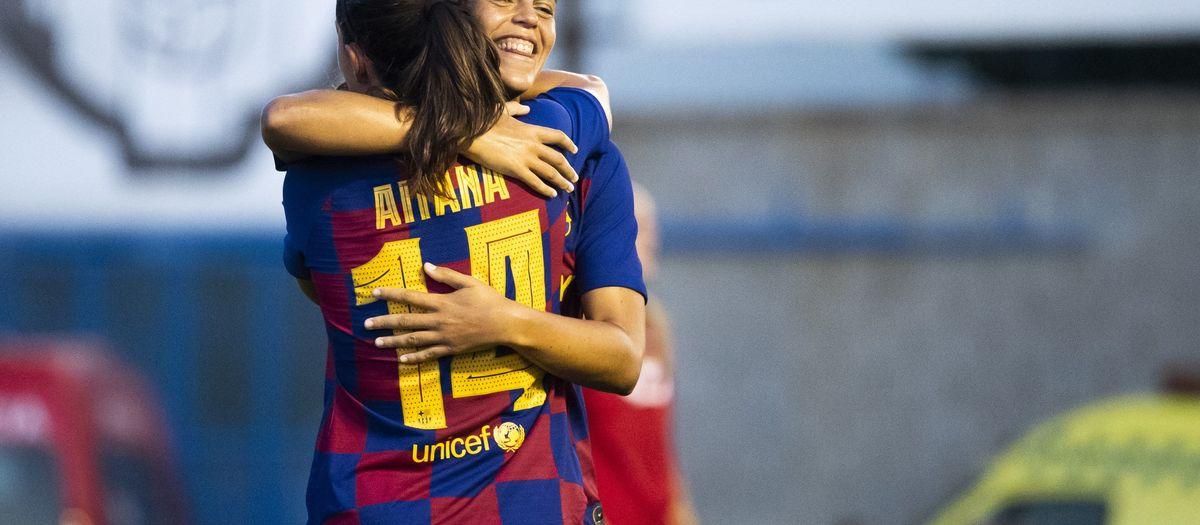 Barça Femení – CE Seagull: Triomf clar per accedir a la final (5-1)