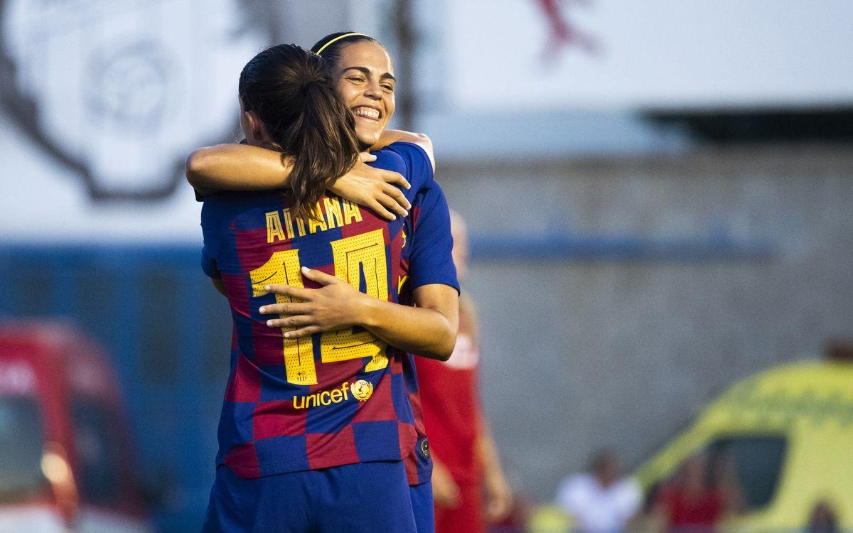 Barça Femenino - CE Seagull: Triunfo claro para acceder a la final (5-1)