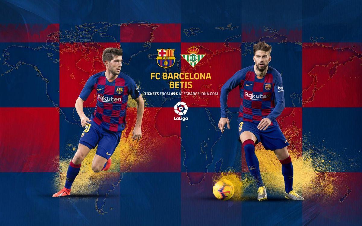 Cuándo y dónde ver el Barça-Betis