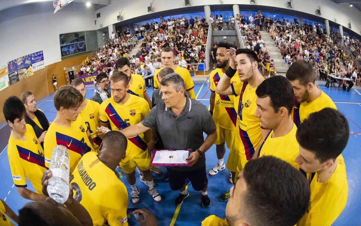 Barça – Fraikin Granollers: Primer derbi amb títol en joc