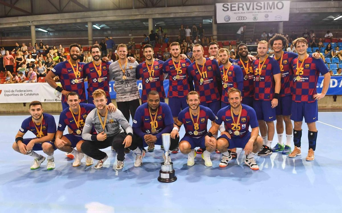 Barça – Fraikin BM Granollers: Catalan Super Cup champions! (43-24)
