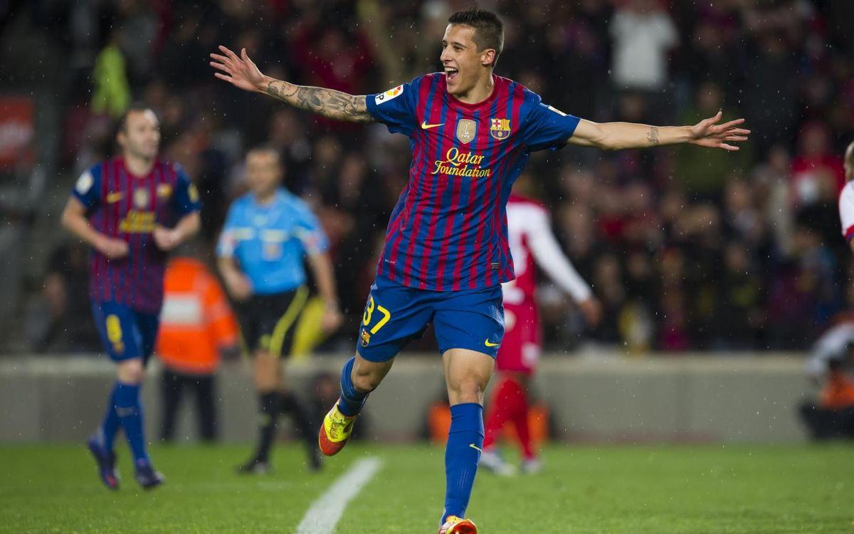 """Cristian Tello: """"Siempre es especial volver al Camp Nou"""""""