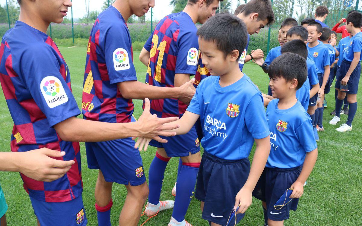 Trobada del Cadet A amb la Barça Academy de Kunming