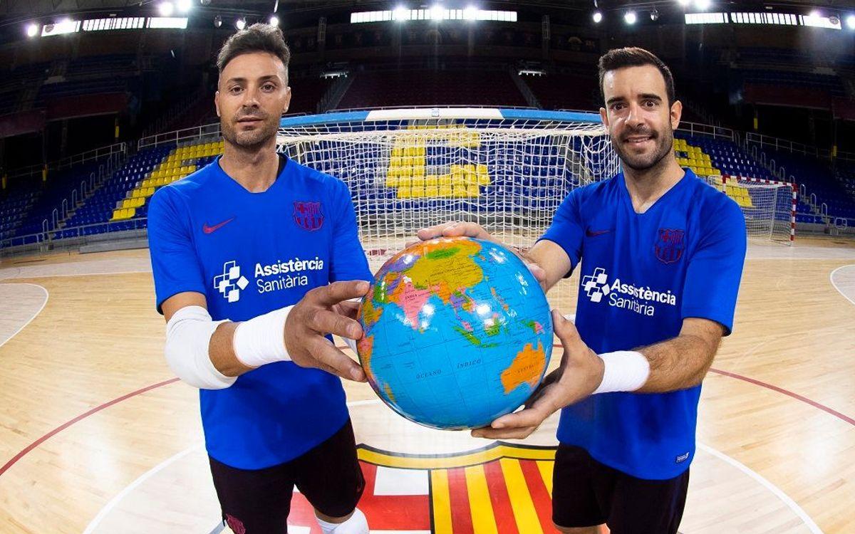 Juanjo i Dídac, el món a les seves mans