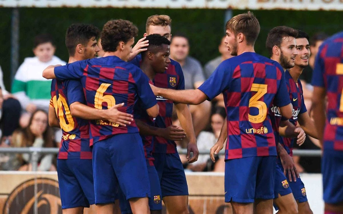 A la venta las entradas del Barça B - Nàstic del 1 de septiembre y de toda la temporada del filial