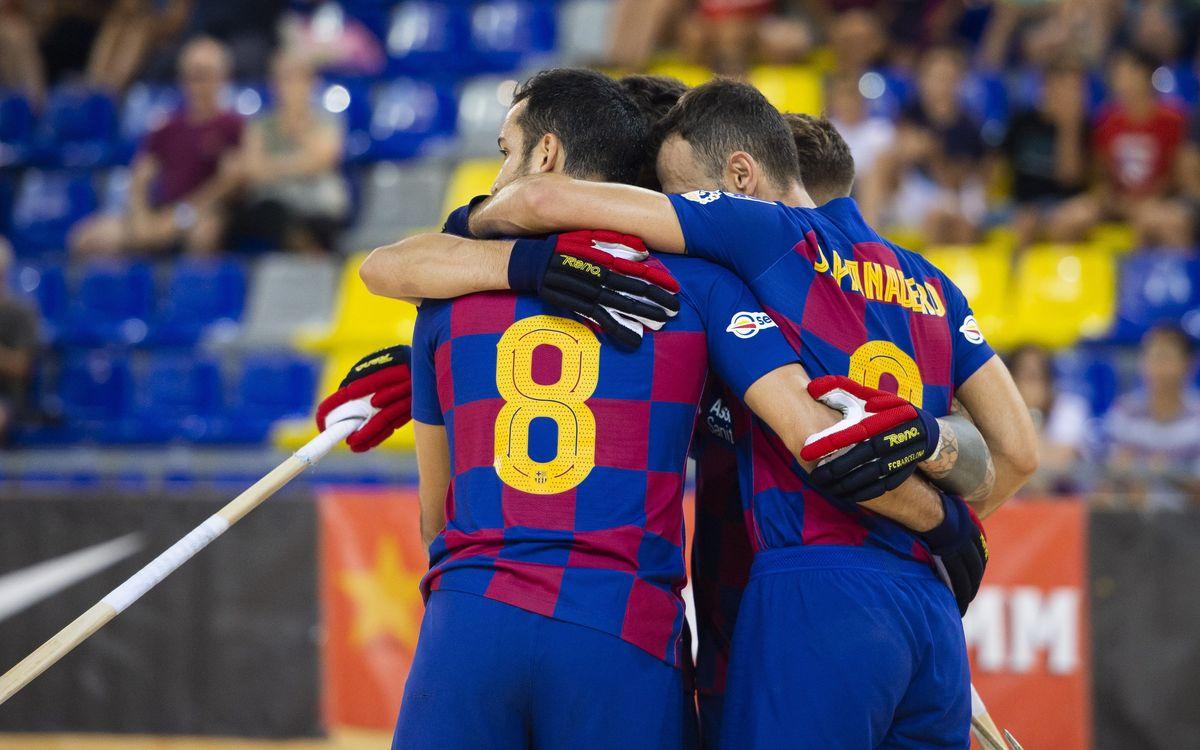 Calafell-Barça: Amb pas ferm cap als quarts de final de la Lliga Catalana (2-6)