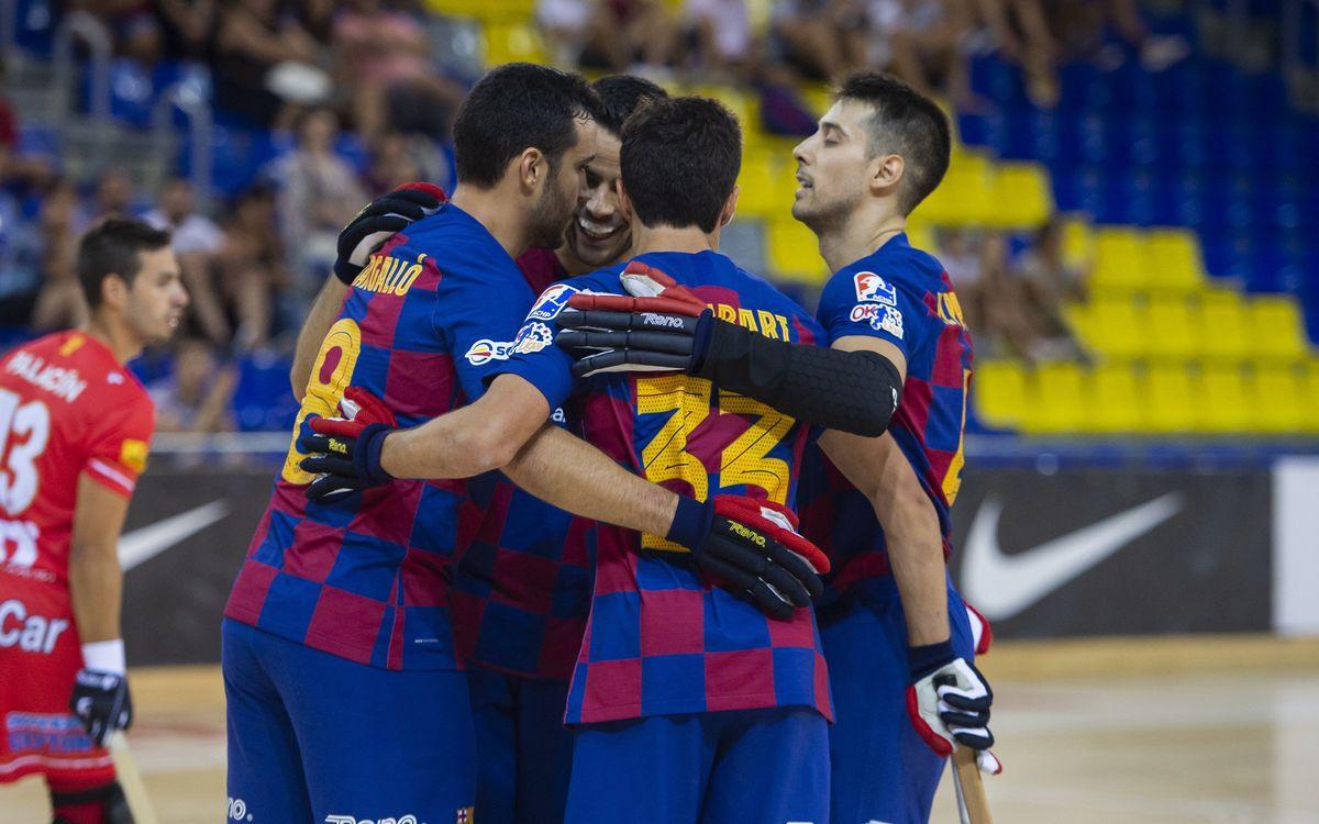 Barça-Girona CH: Triunfo trabajado en el regreso al Palau (3-1)