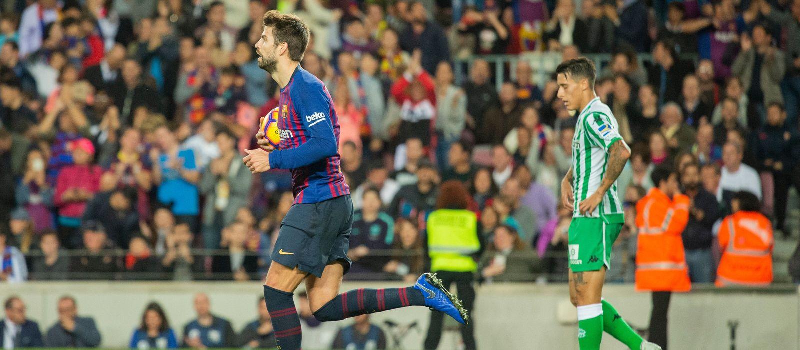 Barça-Betis: La Liga returns to the Camp Nou